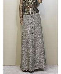 BARAKA made in u.s.a maxi skirt-1226-6