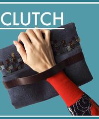 """""""mosaïque"""" CLUTCH BAG  - M #CL1830"""