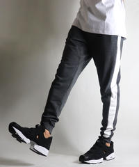 STRETCH SKINNY JOGGER PANTS CHARCOAL2 KW091001CHA2
