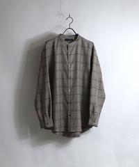 TRバンドカラーLSシャツ AM030302BEI2
