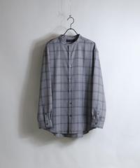 TRバンドカラーLSシャツ AM030302GRY