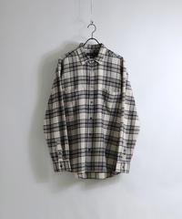ソフトネルチェックシャツ AM030309WHT