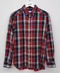 MYSELF ABAHOUSE インディゴチェックシャツ(159)
