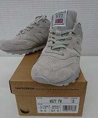 【新品】new balance M577 FW made in England フライング ザ フラグ 27.0cm(185)