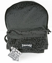 【新品】THRASHER LEOPARD BACK PACK(261)