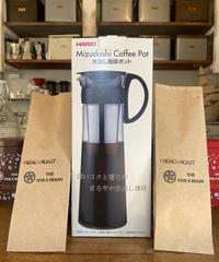 水出しアイスコーヒーポット  1000ml コーヒーセット(2回分)