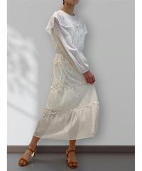 diploa | DOT RUFFLE DRESS