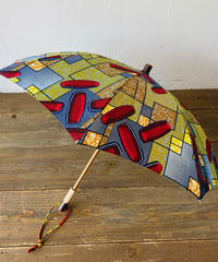 <women>Bon Bon Store(ボンボンストア) アフリカンバティック 日傘/BON-21014-14