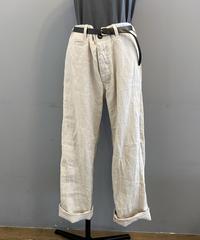 <women>Honnete(オネット) Linen Chino Trousers リネントラウザーパンツ  / ナチュラル