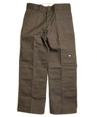 Dickies Loose Fit Double Knee Work Pants Dark Brown (DB)