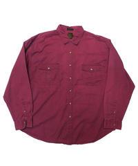 90's Eddie Bauer Twill Long Sleeve Shirt  [C-0147]