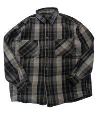 90's St.John's Bay Plaid Longsleeve Flannel shirt[C-233]