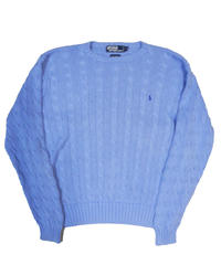 90's Polo Ralph Lauren Cotton Knit Sweater [C-0078]