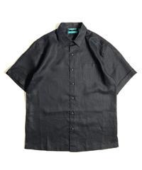 Cubavera Short sleeve Linen Shirts Black
