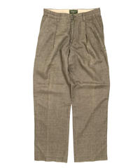 2000s Eddie Bauer Linen Trousers Olive