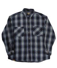 90s St.Jhon's Bay Plaid Longsleeve Flannel shirt [C-0090]