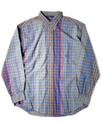 90s Nautica Crazy Pattern Shirts