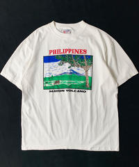 90s Philippines Mayon Volcano T-Shirt