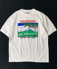 90s Philippines Mayon Volcano T-Shirt