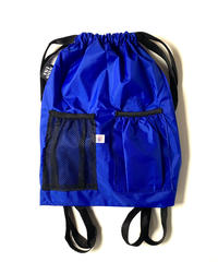 Bags usa Drawstring Backpack Blue