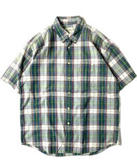 90s Eddie Bauer Shortsleeve Plaid Shirt
