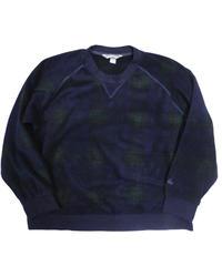 90's EMS Crew Neck Fleece Shirt [C-0049]