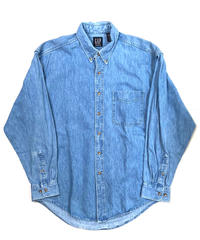 90s Gap Long Sleeve Denim Shirts