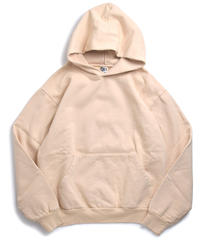 Los Angeles Apparel 14oz Garment Dye Hoodie Beige