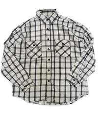 80s Five Brother Longsleeve Flannel shirt[C-209]