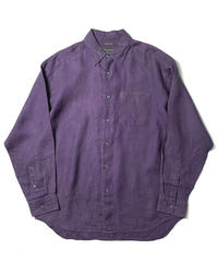 00s Banana Republic Long Sleeve Linen Shirts Purple