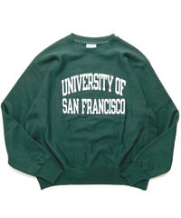 University of Sanfrancisco Reverse Weave Crewneck Sweat Shirts