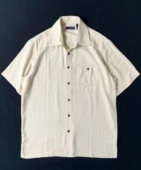 Silk Shortsleeve Shirt Ivory
