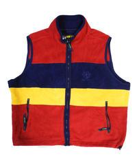 90's EBTEK Eddie Bauer Fleece Vest [C-0069]