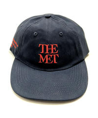 THE MET Logo Cap Navy