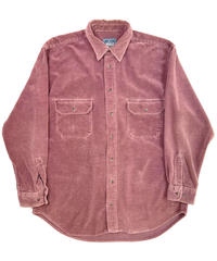 90s Woolrich Wide Wale Corduroy Shirts Salmon