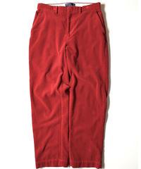 Ralph Lauren Corduroy Pants Crimson