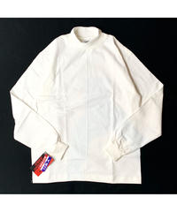 CAMBER #306 MOCK TURTLE SHIRT WHITE