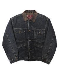90's GAP Wool Lined Denim Jacket  [C-0145]