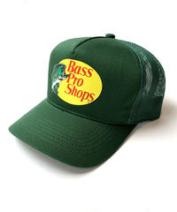 BASS PRO SHOPS MESH CAP GREEN