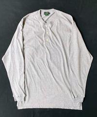 90s J.Crew Henley Neck Longsleeve T-Shirt