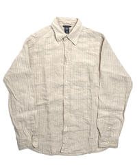 00s GAP Long Sleeve Linen Shirt