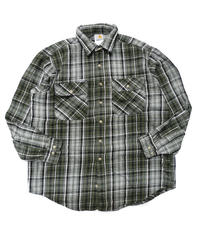 90s Carhartt Plaid Longsleeve Flannel shirt