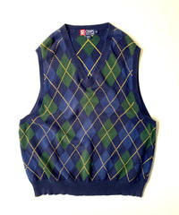 90s Chaps Ralph Lauren Cotton Knit Vest