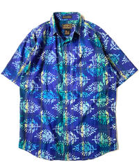 80-90s Eddie Bauer India Madras Shortsleeve Shirt