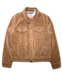 LEVI'S SUEDE LEATHER TRUCKER JACKET