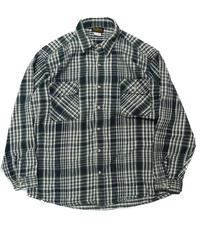 80s Deerskin Longsleeve Flannel Shirt