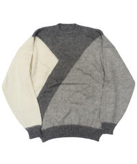 Used Mohair Knit Sweater [C-0189]