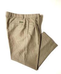 2000s Dockers Linen Front Pleat Trousers