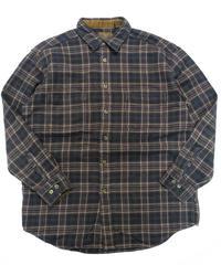 90's St.John's Bay Plaid Longsleeve Flannel shirt[C-208]