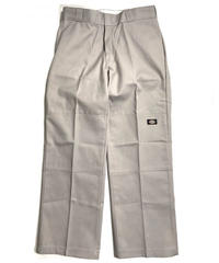 Dickies Loose Fit Double Knee Work Pants Silver (SV)